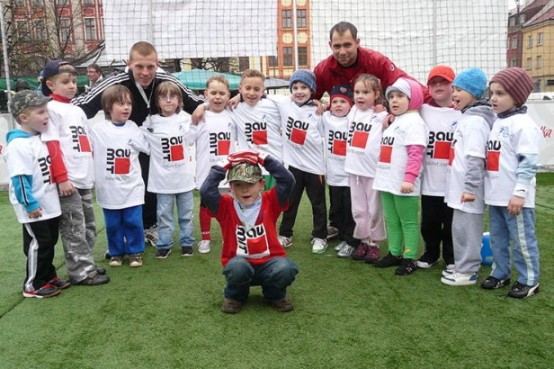 Baumit sponsorem Mini Mistrzostw Europy Przedszkolaków w piłce nożnej