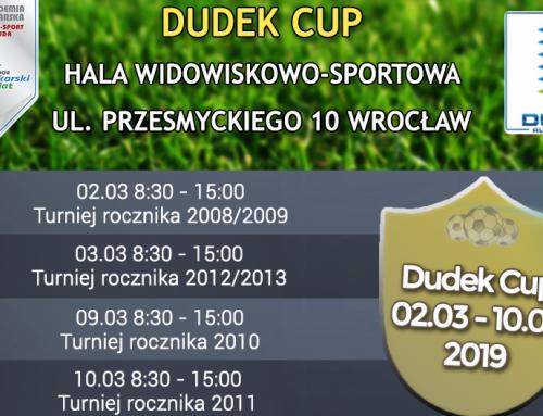 ZAPISZ SIĘ NA DUDEK CUP 2019!